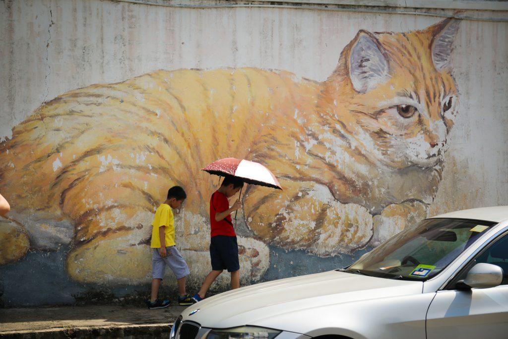 Street Art an jeder Ecke und Mauer